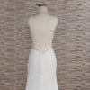 WEDDING DRESS WITH SPAGHETTI STRAPS | SHEATH WEDDING DRESS | MURFY