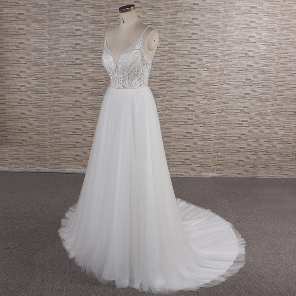 Wedding Dress with Straps
