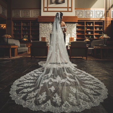 Cathedral Mantilla Wedding Veil in Sydney