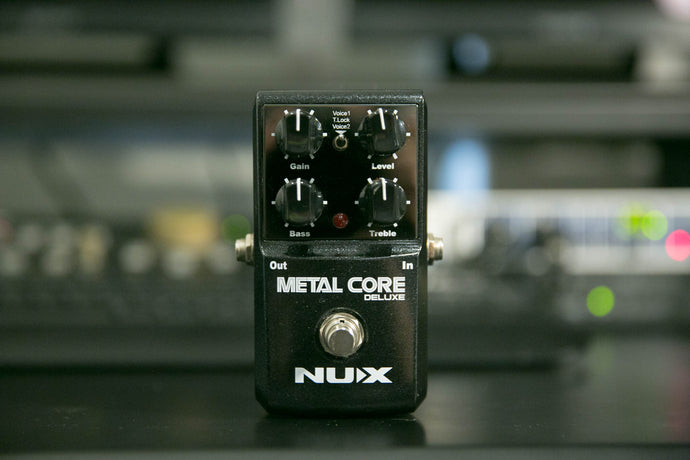 Metal Core Deluxe Distortion Pedal + Free Shipping