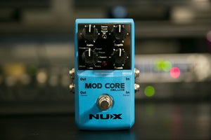 Mod Core Deluxe Modulation Effects Pedal + Free Shipping