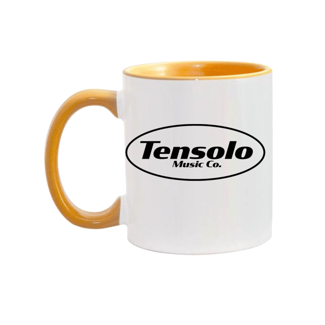 Tensolo Black Logo Mugs