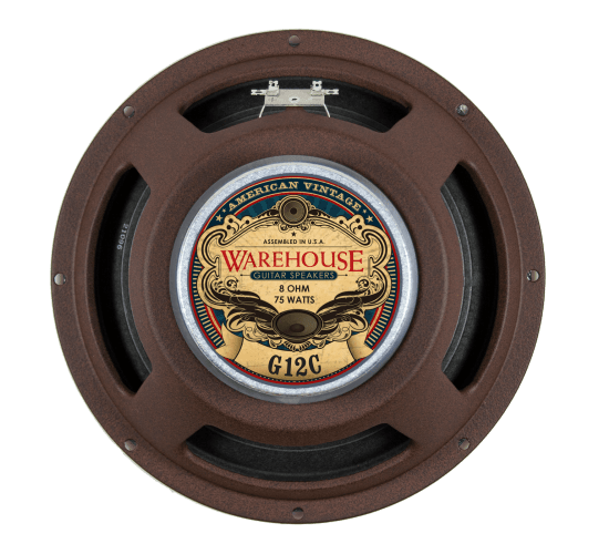 Warehouse Guitar Speakers - American Vintage - 12