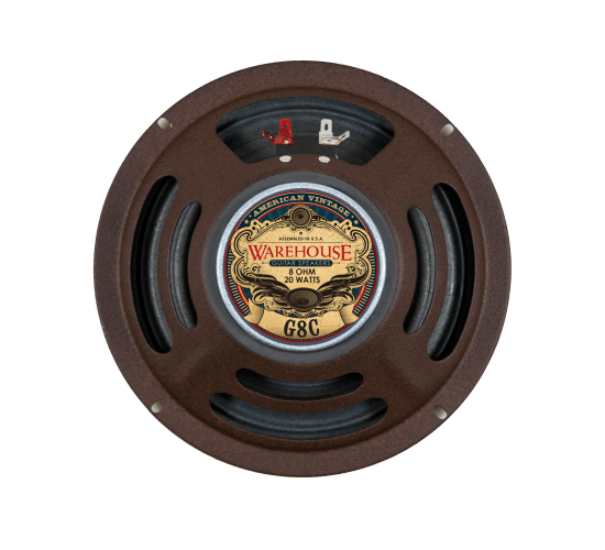 Warehouse Guitar Speakers - American Vintage - 8