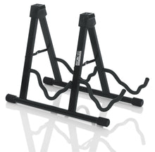 Laden Sie das Bild in den Galerie-Viewer, Gator Frameworks Rok-It Universal Double A-Frame Guitar Stand - Tensolo Music Co.