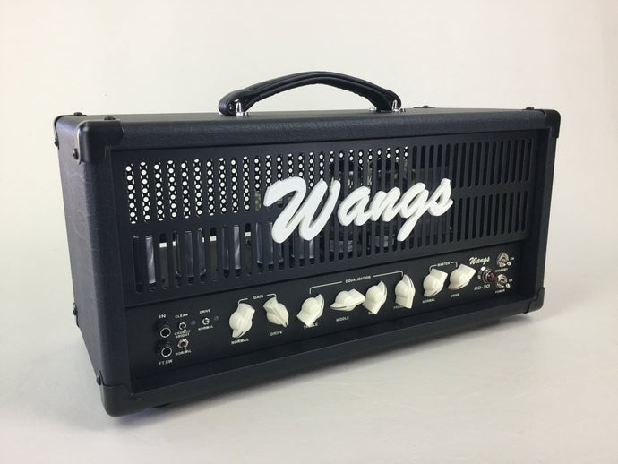 Wangs HD-30 - High Gain 3-Channel 30W All Tube Amplifier Head (w/ foot-switch)