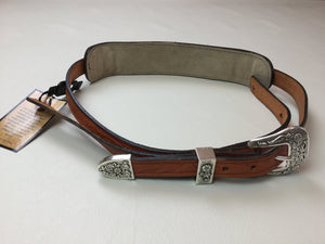 "Long Hollow Leather - Premier Series Traditional 1"" with Buckle Set"
