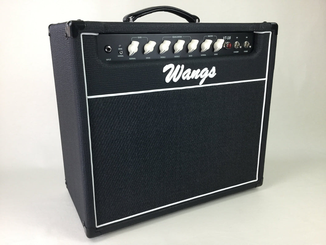 Wangs VT-18 (Black) - All Tube Amplifier Combo (w/ foot switch)
