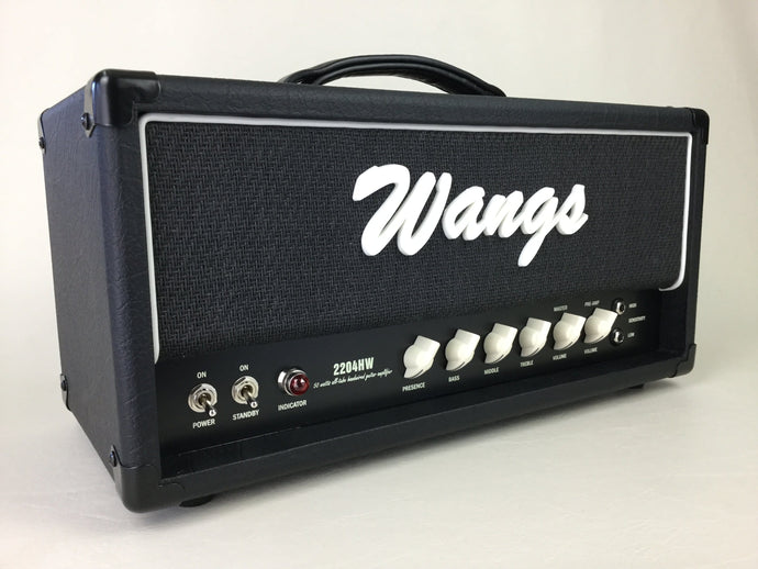 Wangs 2204 HW (Black/Black) - All Tube Amplifier Head