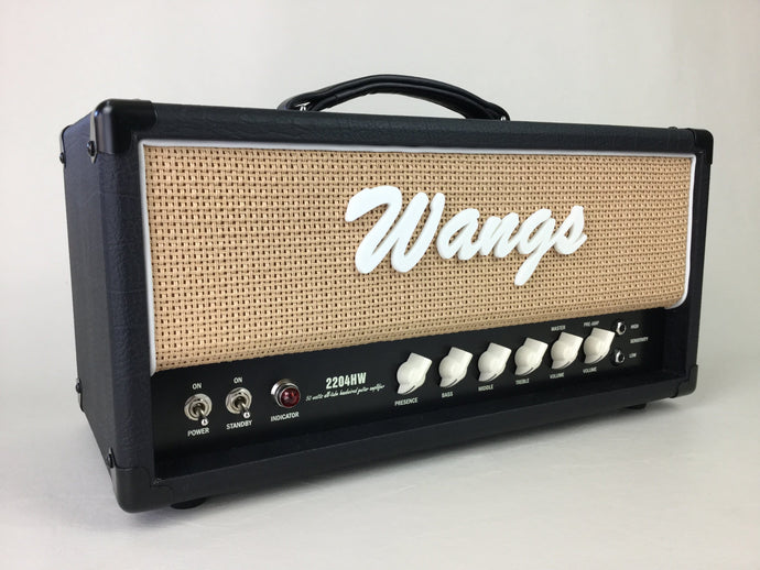 Wangs 2204 HW (Black/Hemp) - All Tube Amplifier Head + Free Shipping