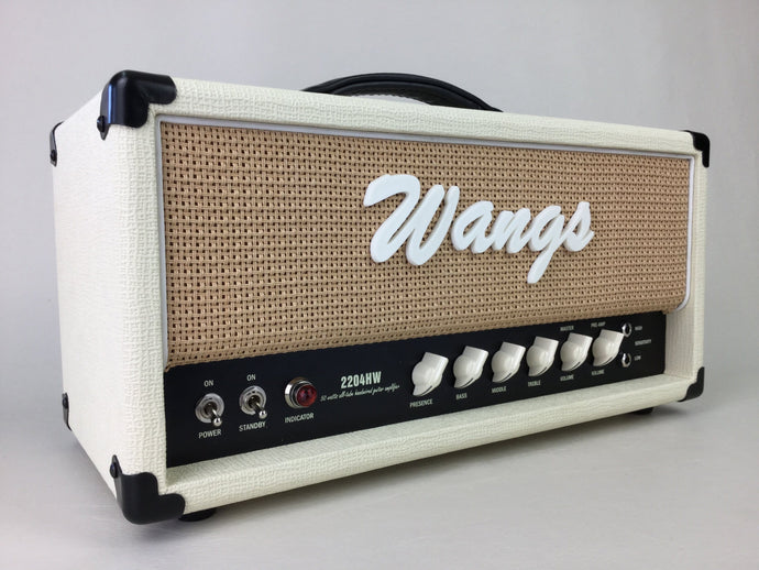 Wangs 2204 HW (White/Hemp) - All Tube Amplifier Head