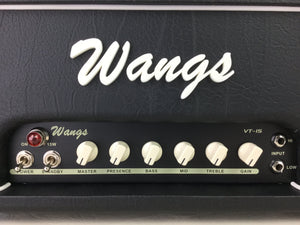 Wangs VT-15H (Black) - All Tube Amplifier Head