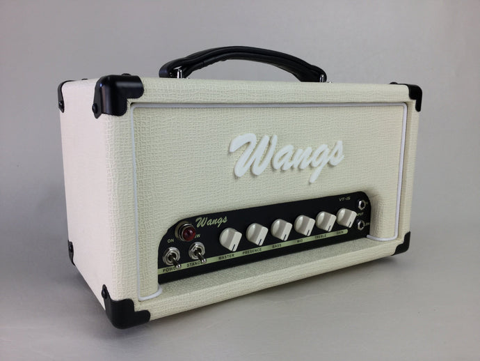 Wangs VT-15H (White) - All Tube Amplifier Head
