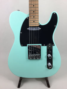 Atsah Guitars Model T Surf Green (w/ padded Atsah gig-bag) + Free Shipping