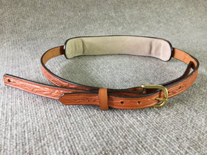 "Long Hollow Leather - Premier Series Traditional 1"" with Buckle"