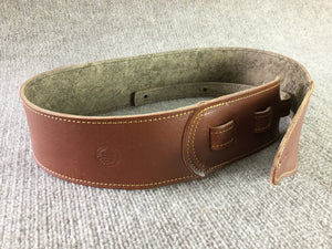 "Long Hollow Leather - Pinnacle Series 3"" Supple Milled Strap"