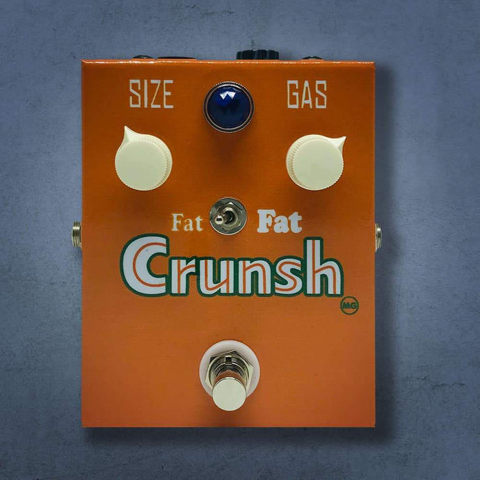 MG Music Crunsh Overdrive MG Music Effects Pedals