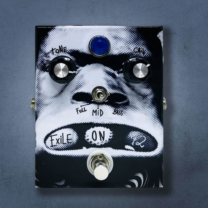 MG Music Exile On 72 Overdrive MG Music Effects Pedals