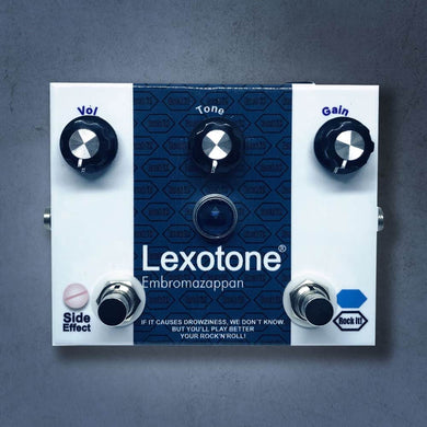 MG Music Lexotone Octave Fuzz MG Music Effects Pedals