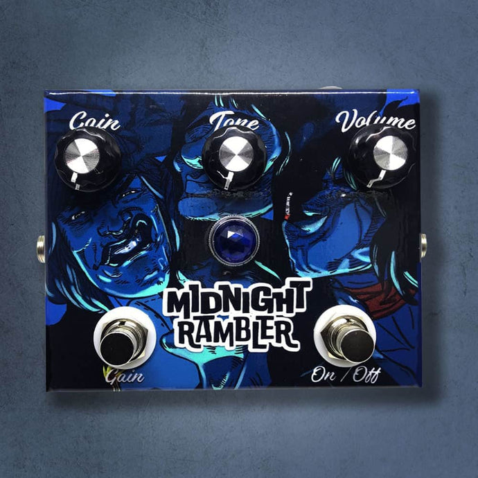 MG Music Midnight Rambler Overdrive MG Music Effects Pedals