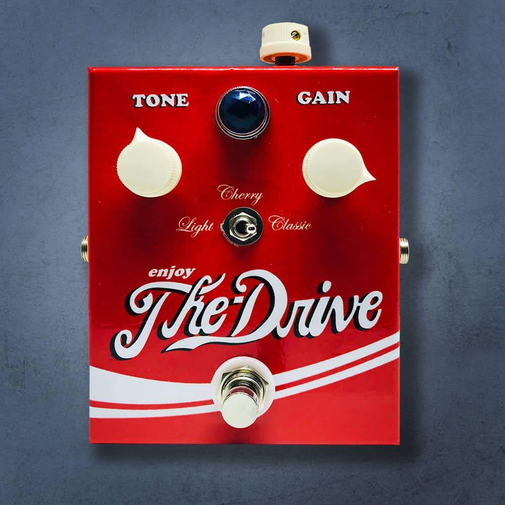 MG Music Effects Pedals The Drive Overdrive