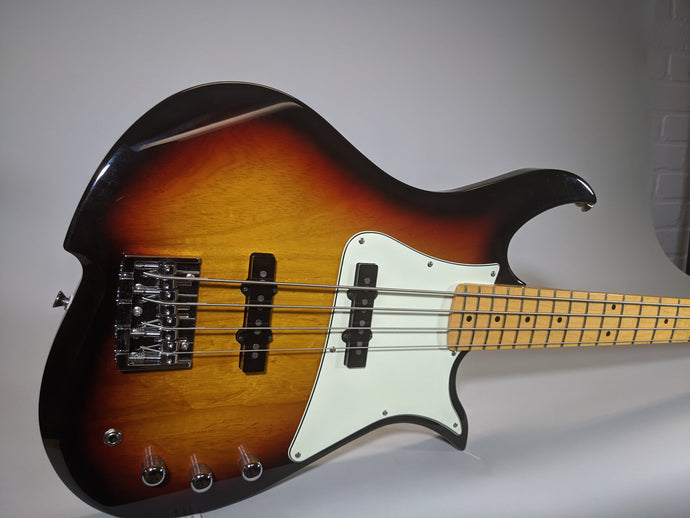 Vola JV4 Bass MF Ash Sunburst (w/ Vola Deluxe Gig Bag) - Show Model - Tensolo Music Co.