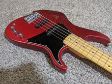 Load image into Gallery viewer, Vola ZV5 Bass MF Ash 5-string Candy Apple Red (w/ Vola Deluxe Gig Bag) - Show Model - Tensolo Music Co.