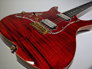 Vola Zenith RV MEM LH Tribal Red (w/ Vola Deluxe HSC) Lefty!