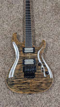 Load image into Gallery viewer, Vola Blaze Custom NT FR FMT Tribal Black v1 with Vola Deluxe Hardshell Case - Show Model - MINT