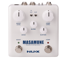 Load image into Gallery viewer, NUX Masamune Booster & Kompressor Pedal