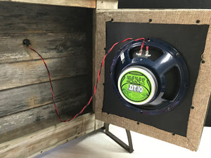 Tensolo Custom Shop - The Ol' Medicine Cab - 1x10 Guitar Speaker Cabinet (30W 8 Ohm)
