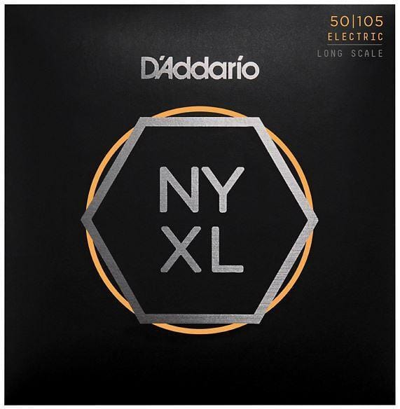 D'Addario NYXL50105 Electric Bass Strings - Medium 50-105 Long Scale + Free Shipping!