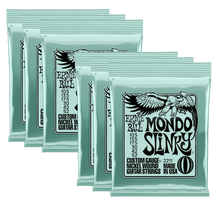 Load image into Gallery viewer, Ernie Ball Mondo Slinky Nickel Wound Electric Guitar Strings (10.5-52) 3 or 6 Pack - Tensolo Music Co.