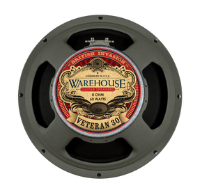 Warehouse Guitar Speakers British Invasion Veteran 30 12""