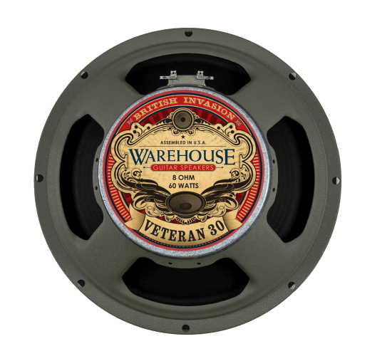 Warehouse Guitar Speakers British Invasion Veteran 30 12
