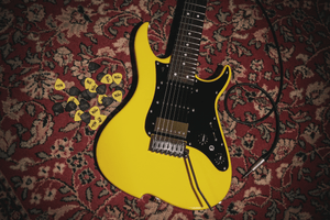 Vola OZ 7 RV RF Corvette Yellow Gloss with Vola Deluxe Gig Bag - SALE 10% OFF