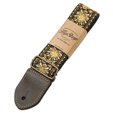 Load image into Gallery viewer, HipStrap Gold Haze Vintage Style Guitar Strap