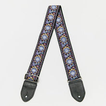 Laden Sie das Bild in den Galerie-Viewer, HipStrap Purple Haze Vintage Style Guitar Strap + Free Shipping