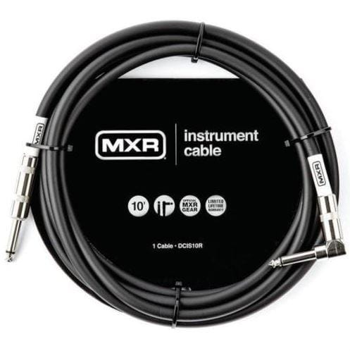 MXR Standard Instrument Cable - 10' Straight/Right - Tensolo Music Co.