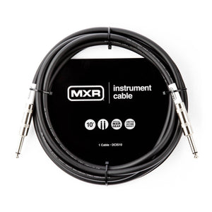 MXR Standard Instrument Cable - 10' Straight/Straight + Free Shipping!