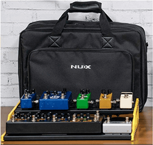 Load image into Gallery viewer, NUX Bumblebee NPB-L (Large 8 Bar) Pedalboard with Carry Bag
