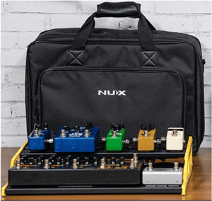 NUX Bumblebee NPB-L (Large 8 Bar) Pedalboard with Carry Bag