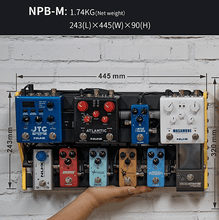 Load image into Gallery viewer, NUX Bumblebee NPB-M (Medium 6 Bar) Pedalboard with Carry Bag