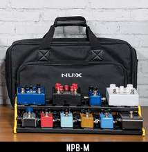 Laden Sie das Bild in den Galerie-Viewer, NUX Bumblebee NPB-M (Medium 6 Bar) Pedalboard with Carry Bag - Tensolo Music Co.