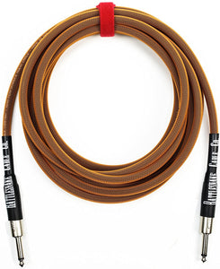 Rattlesnake Cable Co. - 15' Standard Instrument - Straight to Straight Plugs