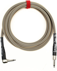 Rattlesnake Cable Co. - 20' Standard Instrument - Straight to Right Plugs