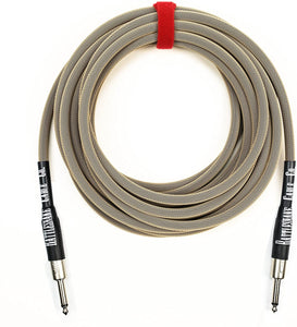 Rattlesnake Cable Co. - 20' Standard Instrument - Straight to Straight Plugs
