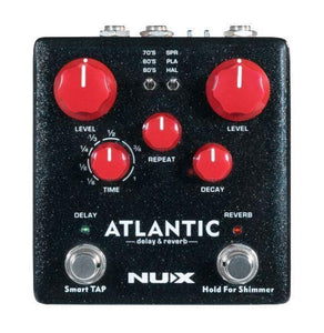 NUX Atlantic (NDR-5) Delay & Reverb + Free Shipping