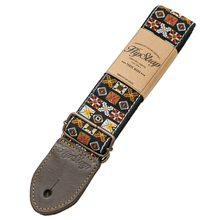 Load image into Gallery viewer, HipStrap Woodstock Brown Vintage Style Guitar Strap