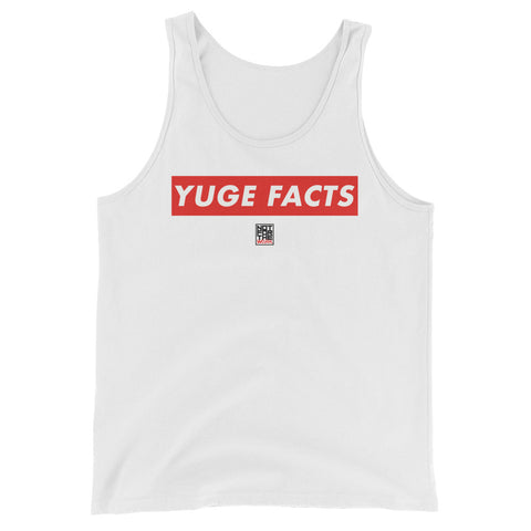 YUGE FACTS TANK - WHITE